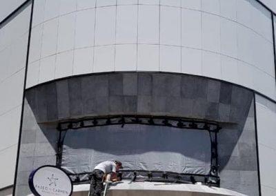 Globalia - Protección contra huracanes - Mallas anticiclónicas- Cortinas anticiclónicas