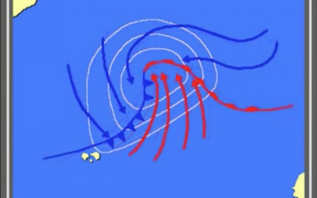 How is a hurricane formed?