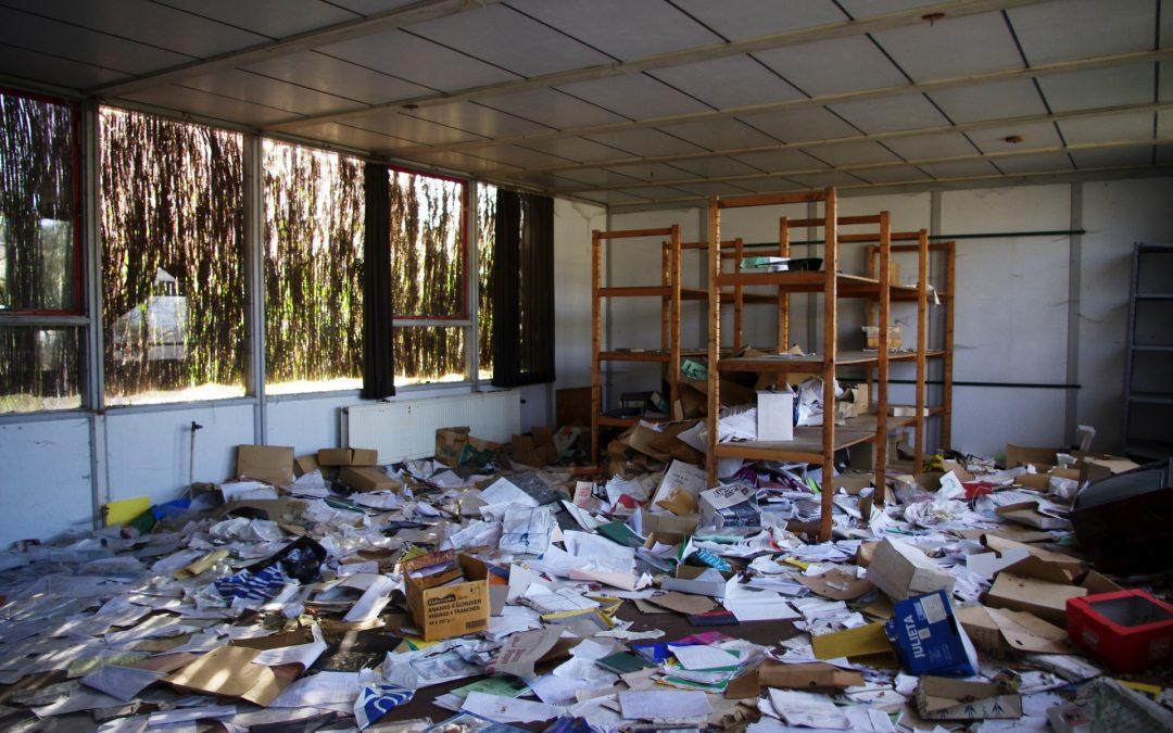 Archivo después de un huracán
