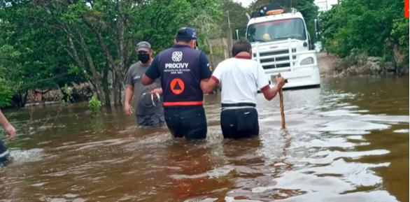 Inundaciones Yucatán